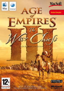 Jeux Age of Empires III The War Chiefs Apple Mac OS X