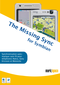 Missing Sync Symbian